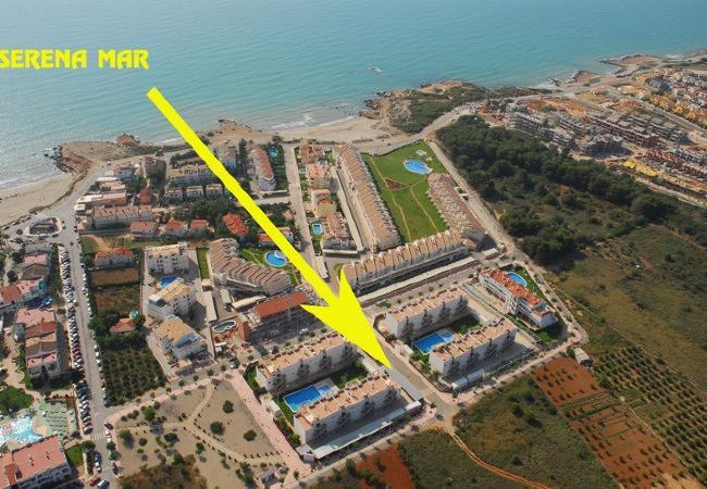 Apartamento en Alcoceber / Alcossebre - SERENA MAR I I A3