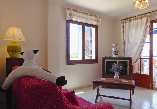 Apartamento en Alcoceber / Alcossebre - BAJO EN PRIMERA LÍNEA CON VISTA AL MAR ALBAMAR